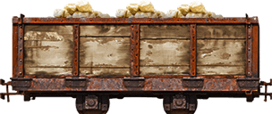 Animated Train Cart