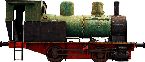 Animated Train Engine