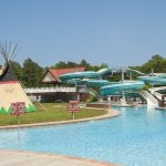 The water park and water slides from Frontier Town Water Park Berlin, MD